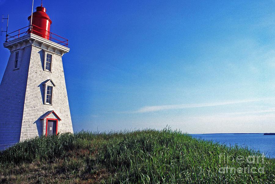 Light House Photograph - Souris Lightstation by Thomas R Fletcher