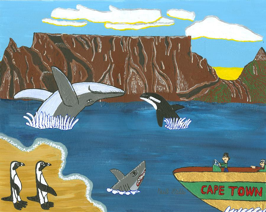 Cape Town Painting - South Africa Cape Town   Oct by Paul Fields
