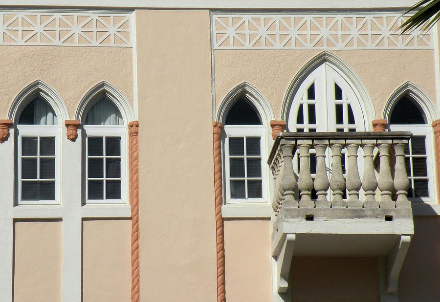 Balcony Photograph - South Beach Balcony by Rosalie Scanlon