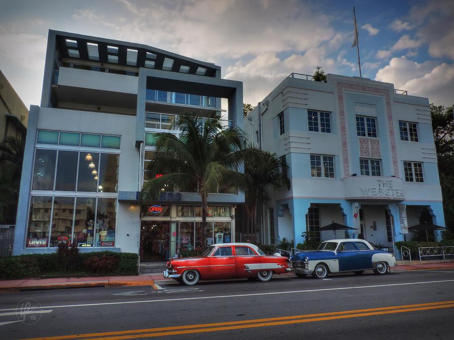 Miami Beach Photograph - South Beach - Collins Avenue 002 by Lance Vaughn