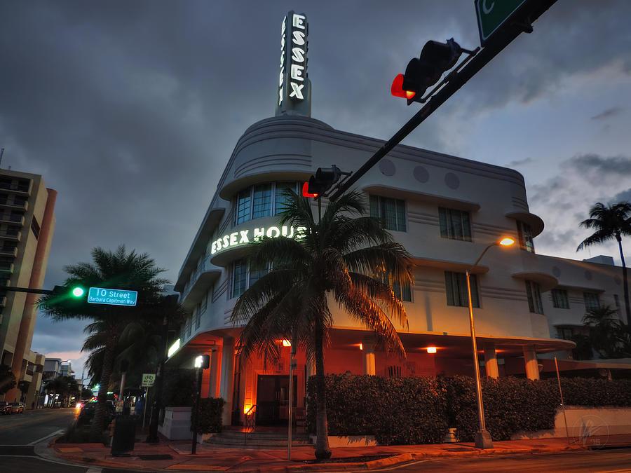 Miami Beach Photograph - South Beach - Essex House 001 by Lance Vaughn