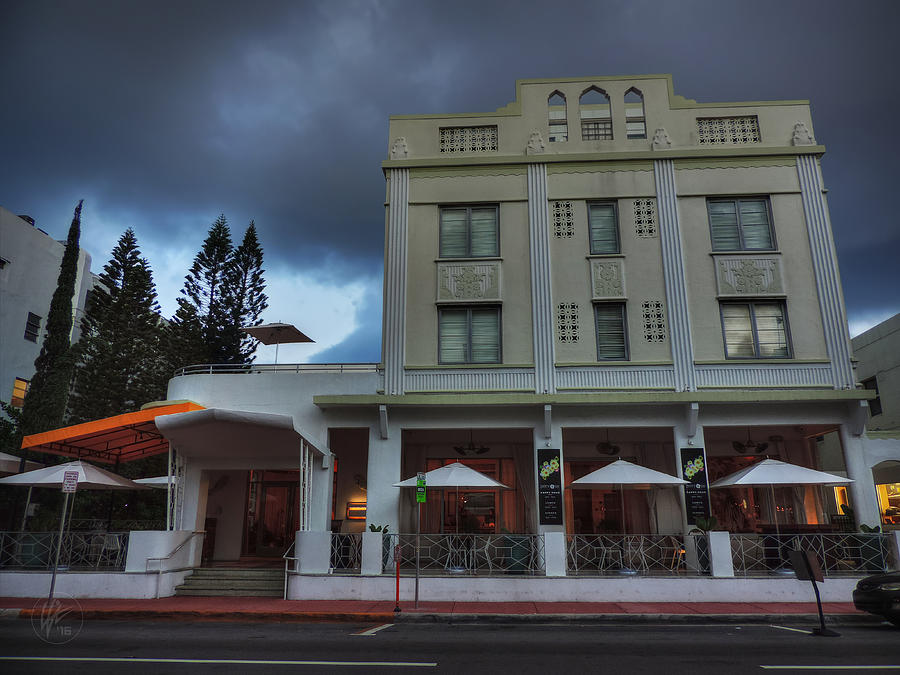 Hotel Photograph - South Beach - The Stiles Hotel 001 by Lance Vaughn