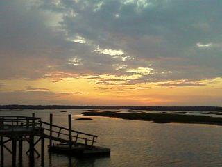 Dock Photograph - South Carolina by Ashley Dudek