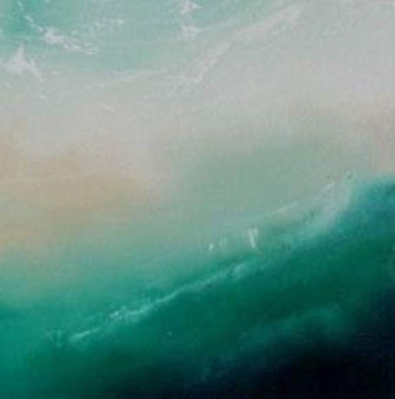 Sea Painting - South Coast 1 by Jennifer Webb