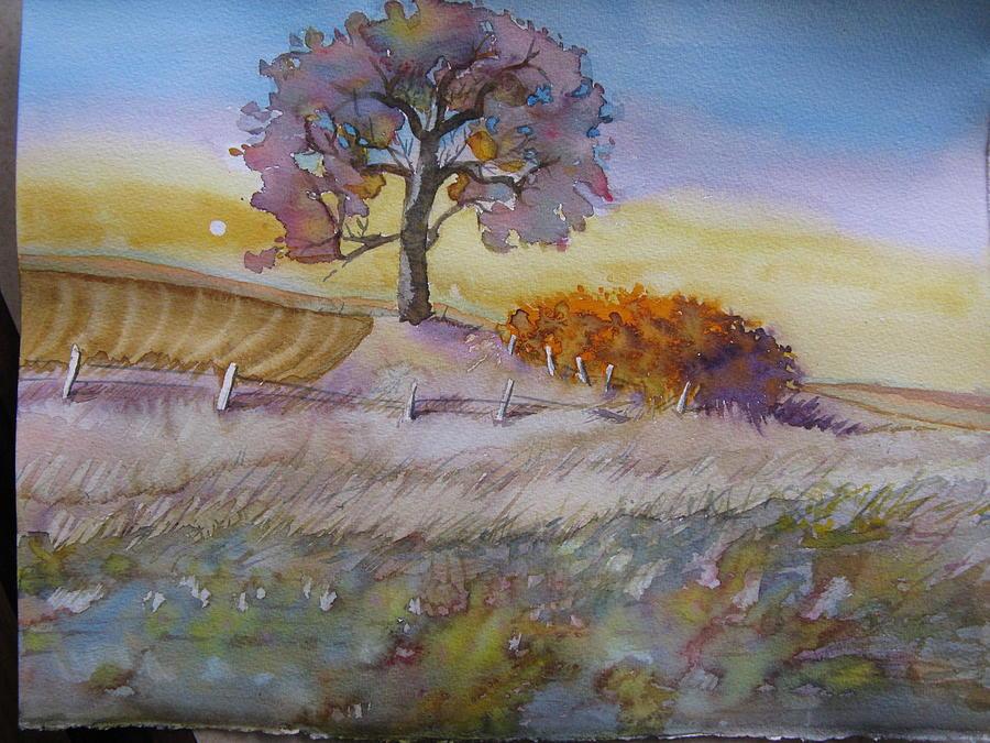 Landscape Painting - South Dakota Landscape by Jeannie Ammon
