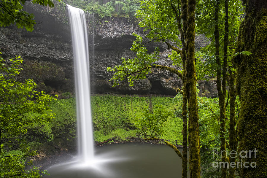 South Falls in Silver Falls State Park by Bryan Mullennix
