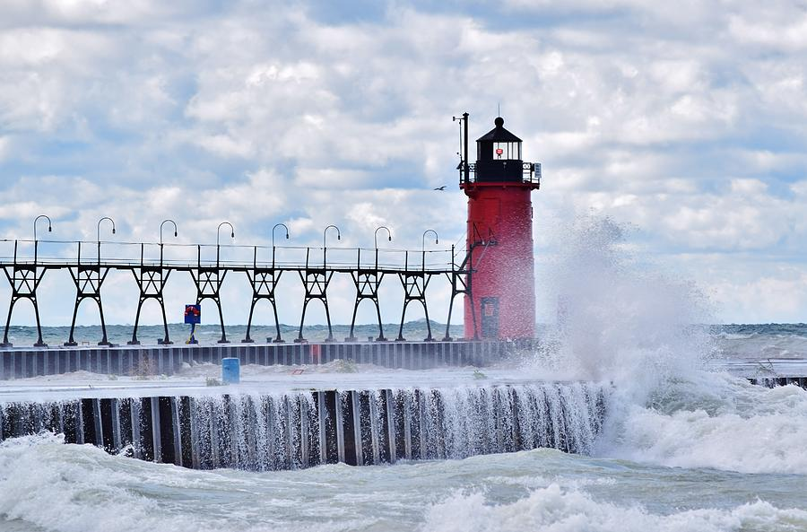 South Haven Lighthouse by Nicole Lloyd