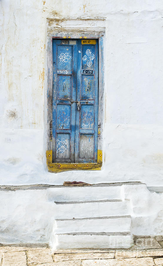 South Indian Photograph - South Indian Door by Tim Gainey