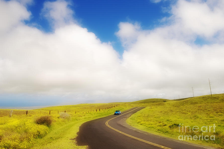 Afternoon Photograph - South Kohala by Greg Vaughn - Printscapes