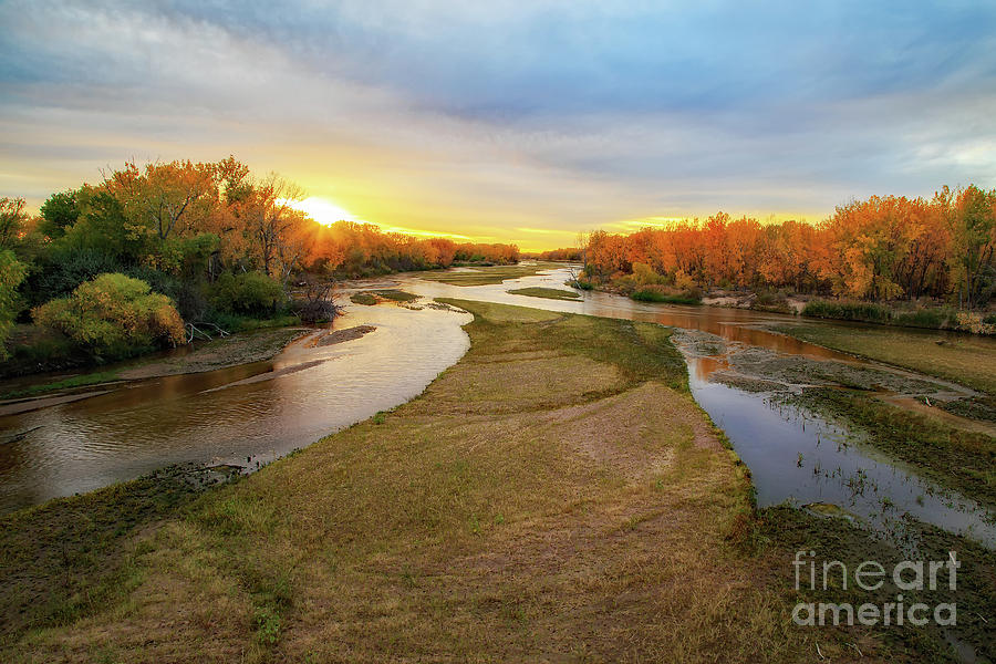 South Platte At North Platte Photograph