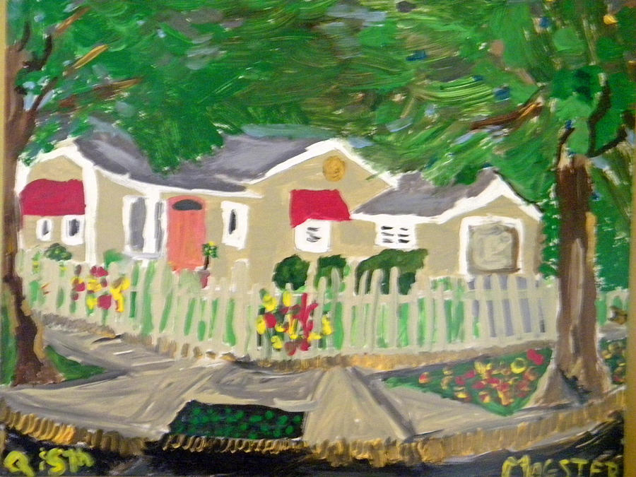 South Q And 5th Painting by Maggie Cruser