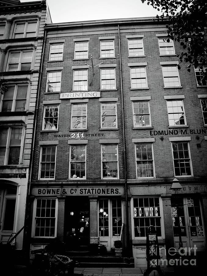 Manhattan Photograph - South Street by Victory Designs