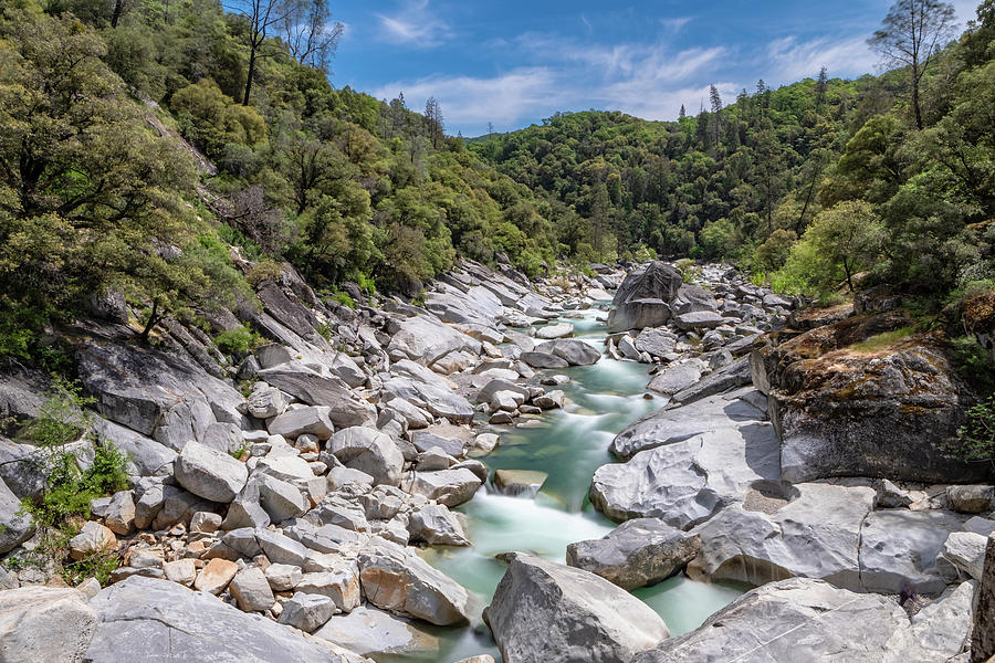 South Yuba River Long Exposure by Robin Mayoff
