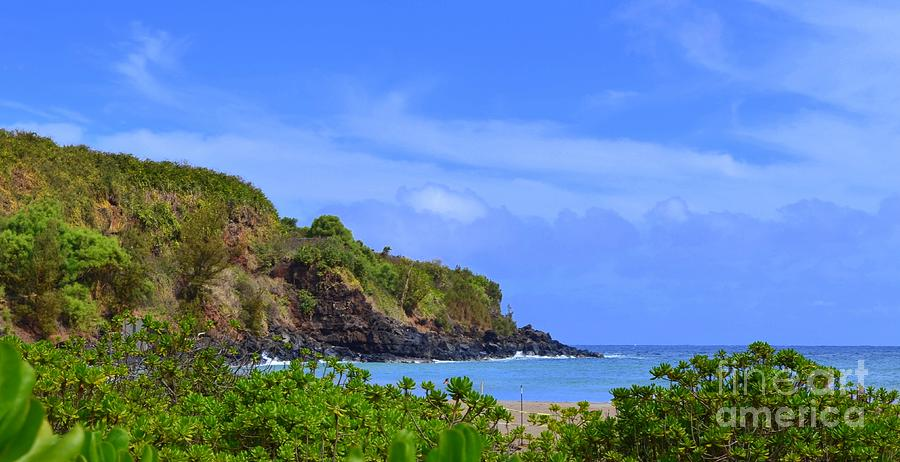Southeast End Of Lawai Bay Kauai Photograph