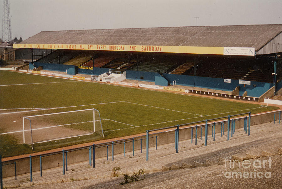 Southend United Roots Hall East Stand 2 1970s