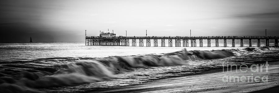 Southern California Pier Panorama Photo Photograph