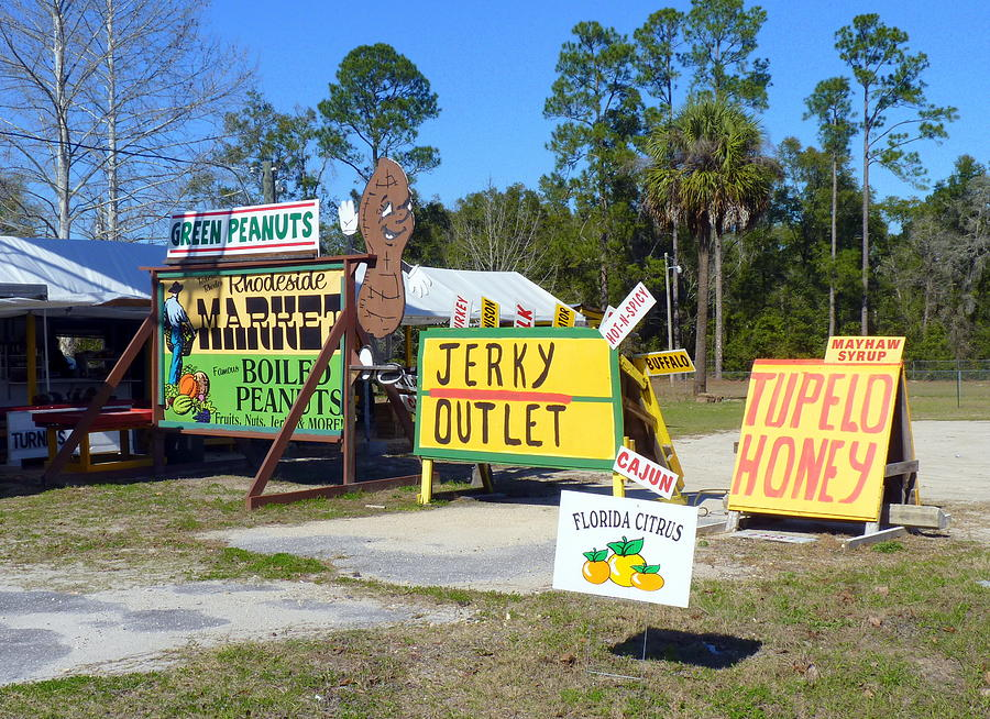 Sign Photograph - Southern Delights by Carla Parris