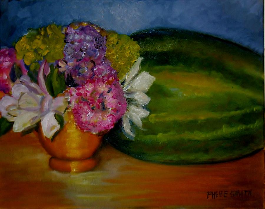 Still Life Painting - Southern Hospitality by Phebe Smith