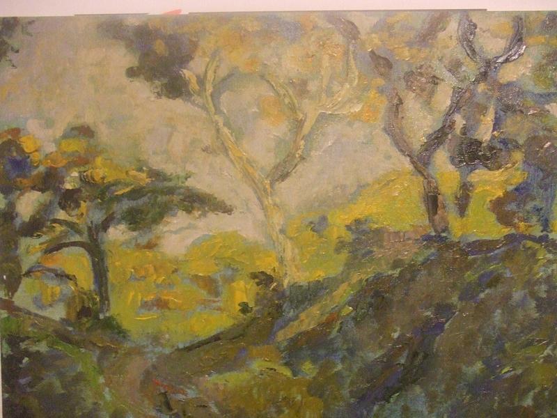 Landscape Painting - Southern Landscape by Mauro Longordo