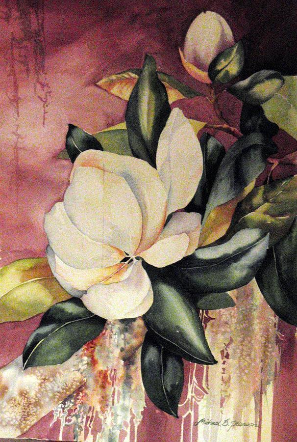 Floral Painting - Southern Scents by Michael Pearson