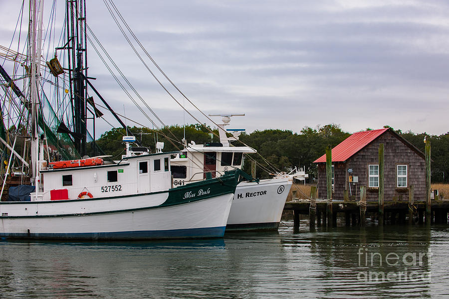 Southern Shrimp Boats Photograph