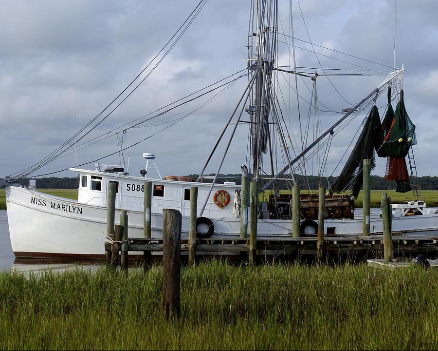 Southern shrimpboat edisto island south carolina for Metalart polen