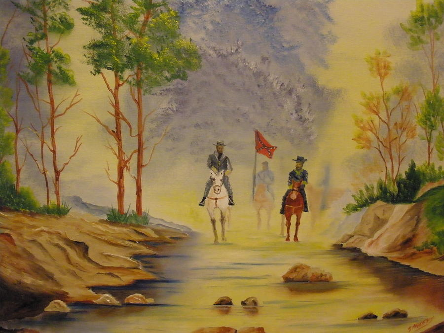 South Painting - Southern Trails by Ron Sargent