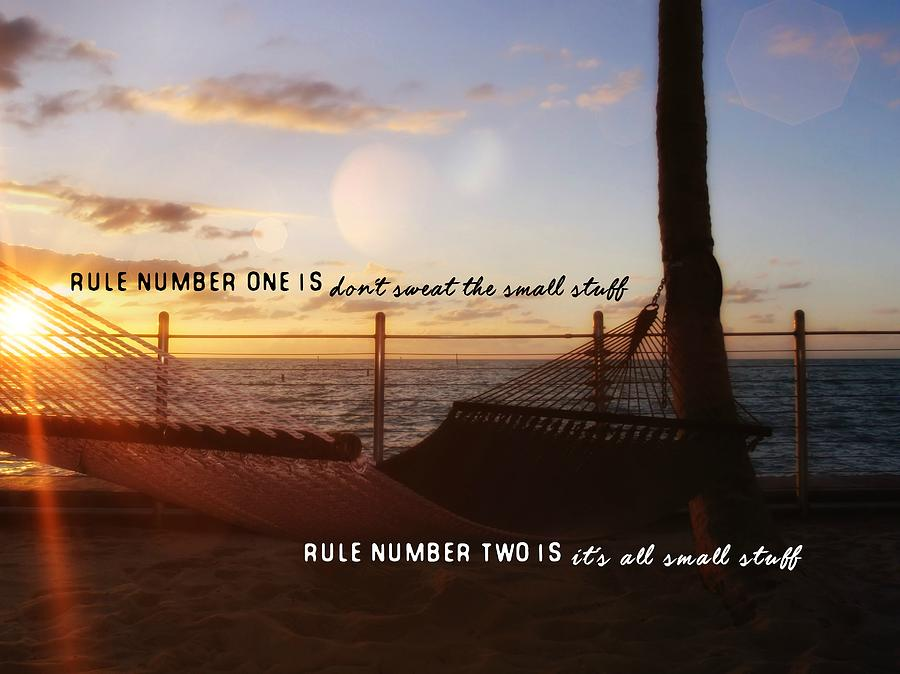 Sunrise Photograph - Southernmost Quote by JAMART Photography