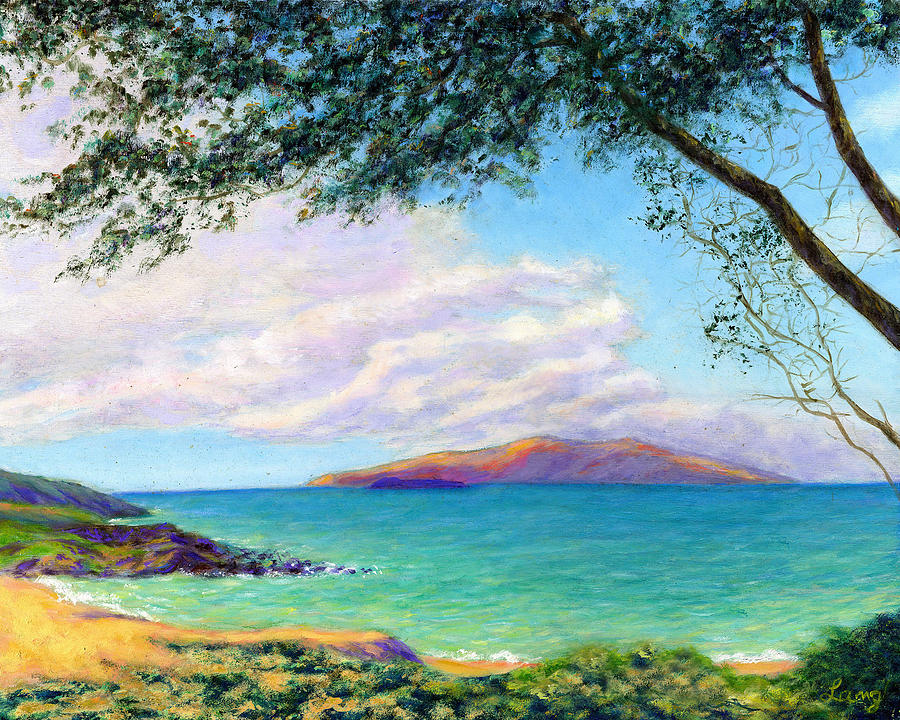 Seascape Painting - Southside Lazy Afternoon by Karen Lang