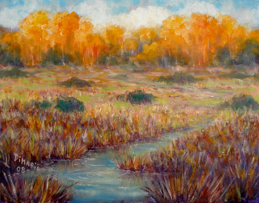Realism Painting - Southwest Autumn by Donelli  DiMaria