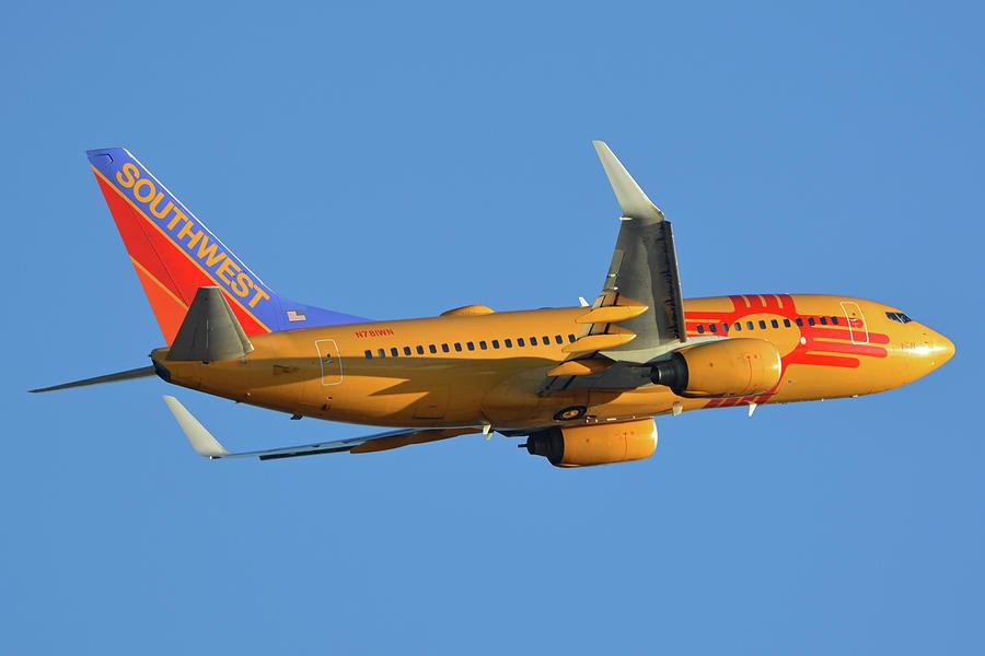 Southwest Boeing 737-7H4 N781WN New Mexico One Phoenix Sky Harbor November 11 2017 by Brian Lockett