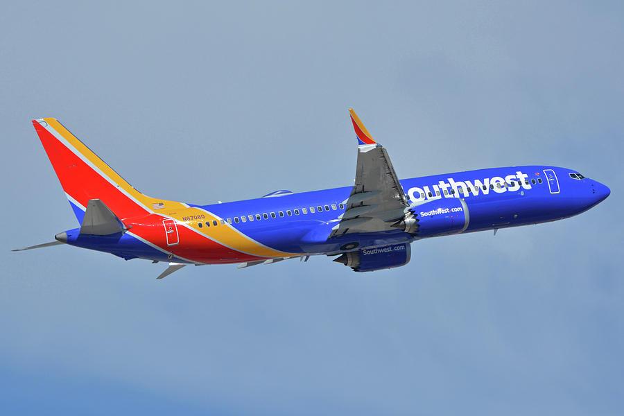 Southwest Boeing 737-8 Max N8708Q Phoenix Sky Harbor October 10 2017 by Brian Lockett