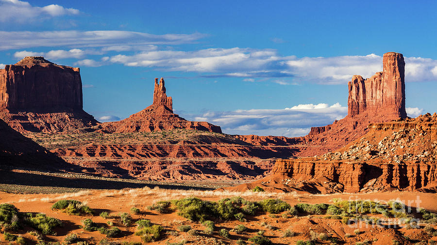 Southwest Buttes 2 by Anthony Michael Bonafede