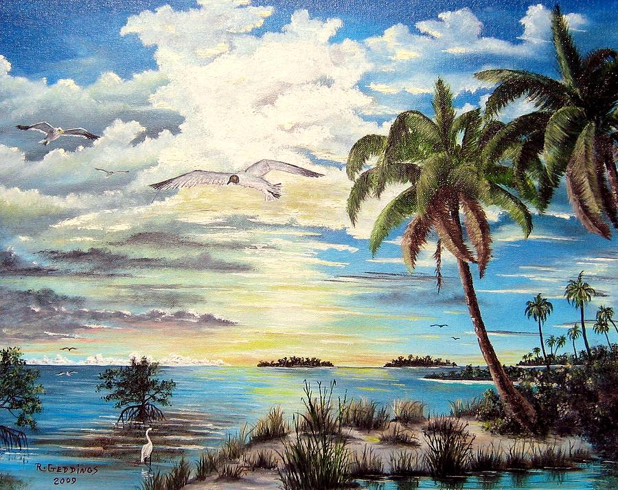 Mangrove Painting - Southwest Florida by Riley Geddings
