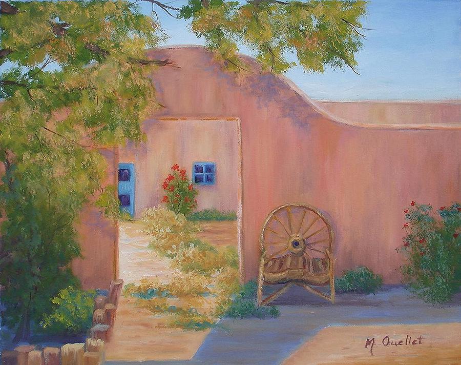 Landscape Painting - Southwest by Maxine Ouellet