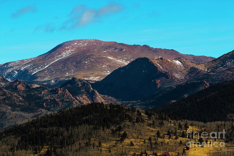 Southwest Pikes Peak Photograph