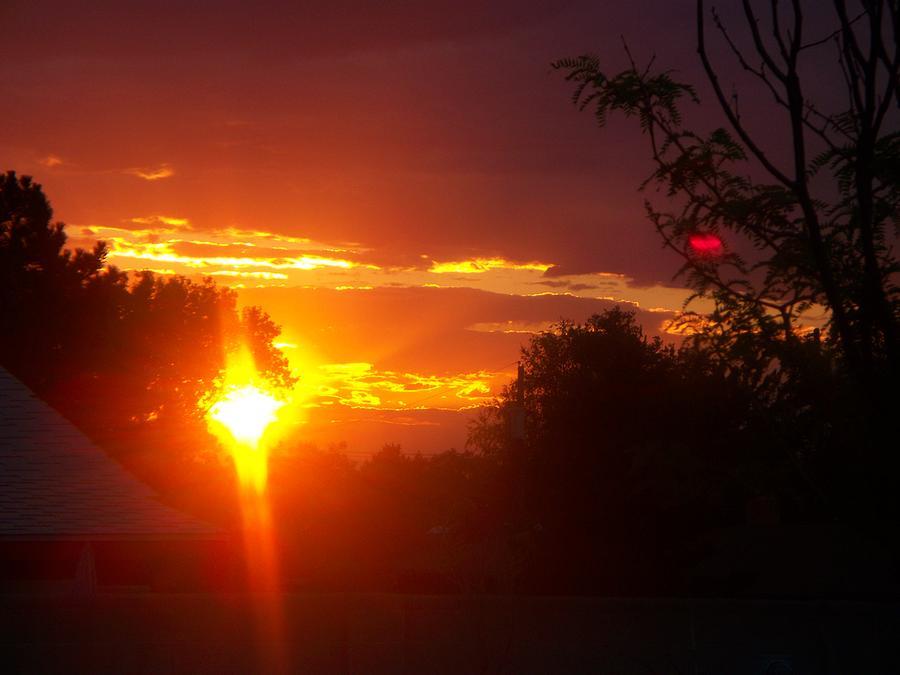 Landscape Photograph - Southwest Sunset by Debra King