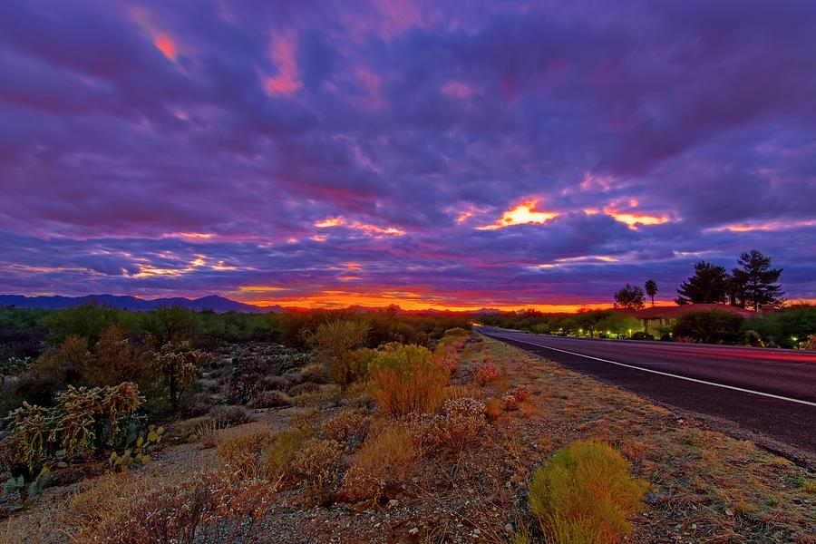 Southwest Sunset H344 Photograph