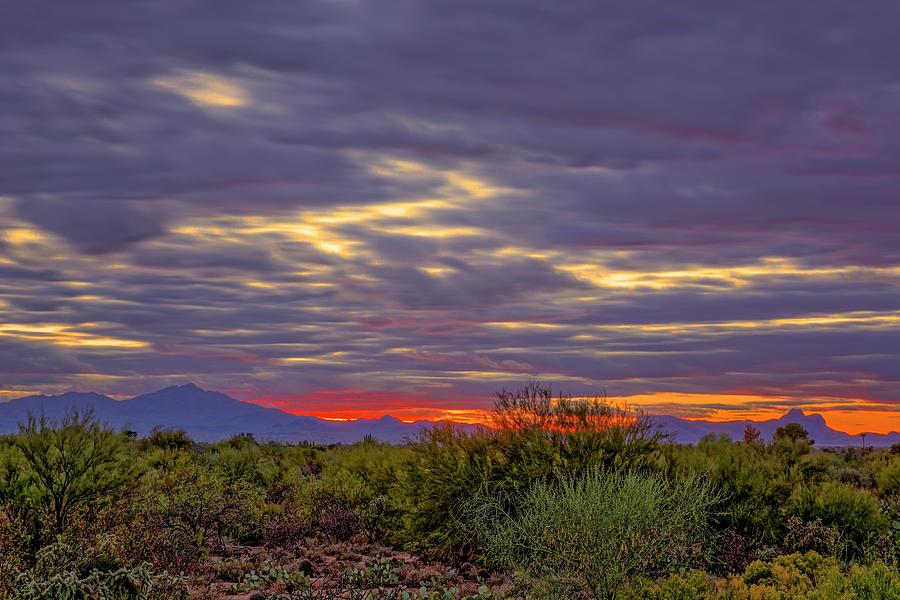Southwest Sunset V1816 Photograph