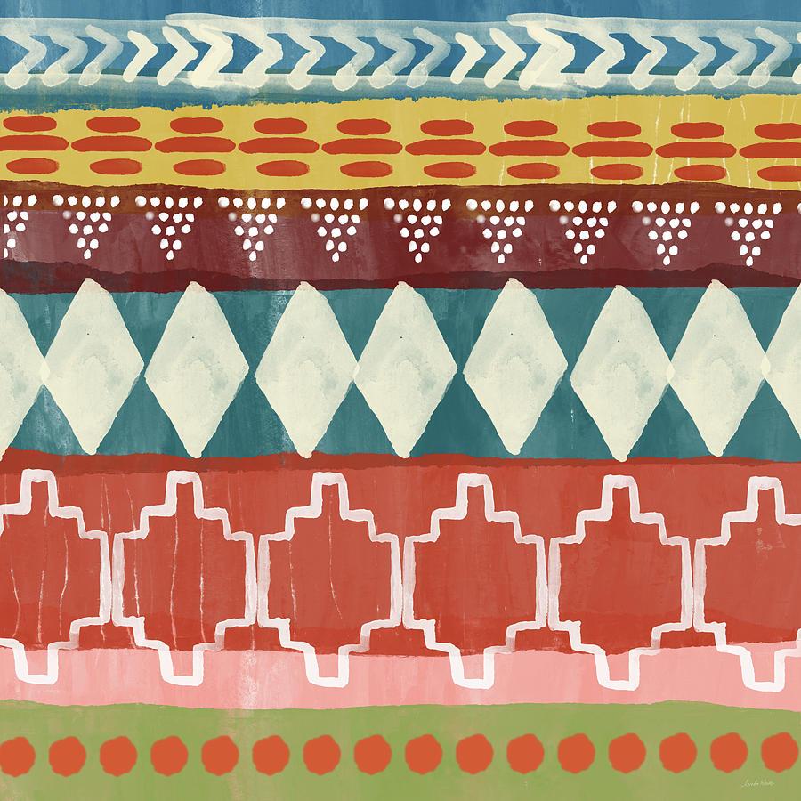 Southwest Mixed Media - Southwestern 1- Art By Linda Woods by Linda Woods