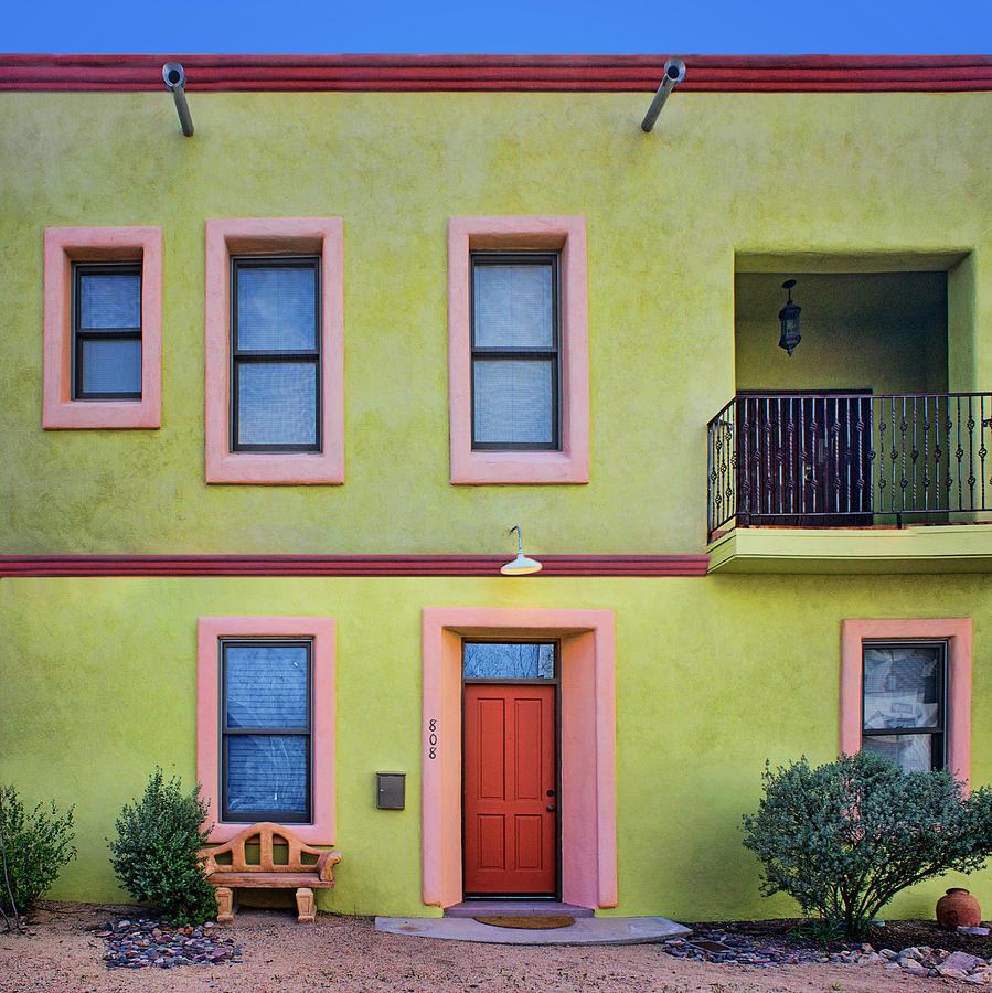 Southwestern - Architecture - Barrio Viejo Photograph by Nikolyn ...