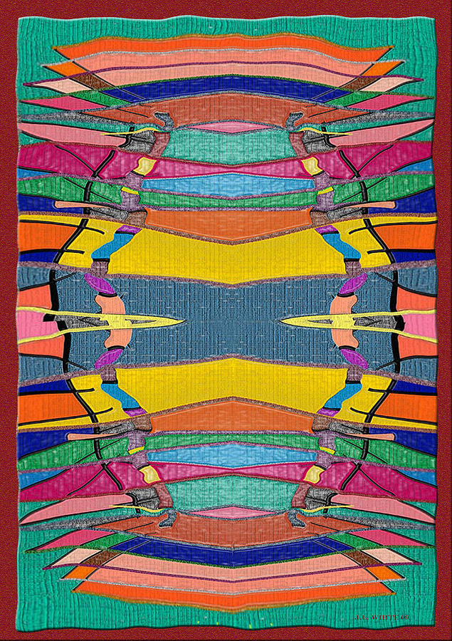Southwestern Rug Digital Art by Jerry White