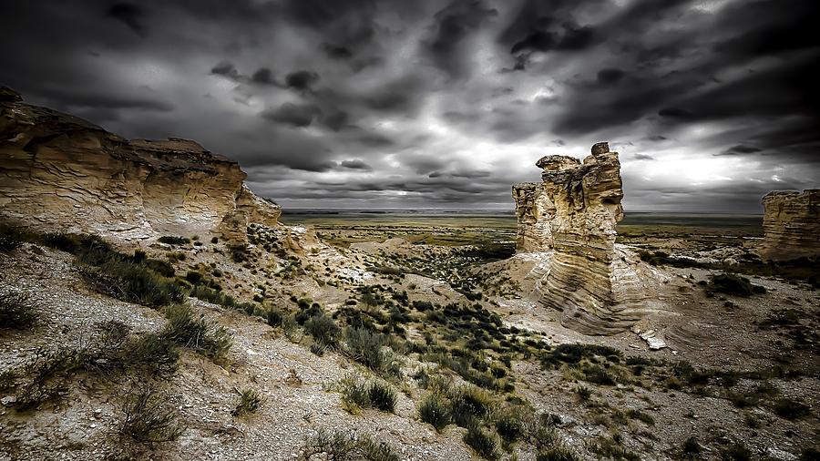 Western Art Prints Photograph - Southwestern Storm by Garett Gabriel