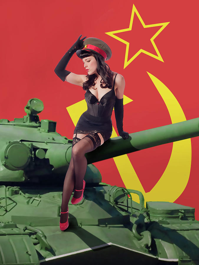 Sovietsky By Land Pinup Girl Photograph By Maxwell Johnson