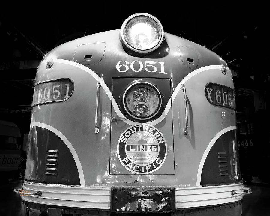 California Photograph - Sp 6051 Streamliner by Jim Thompson