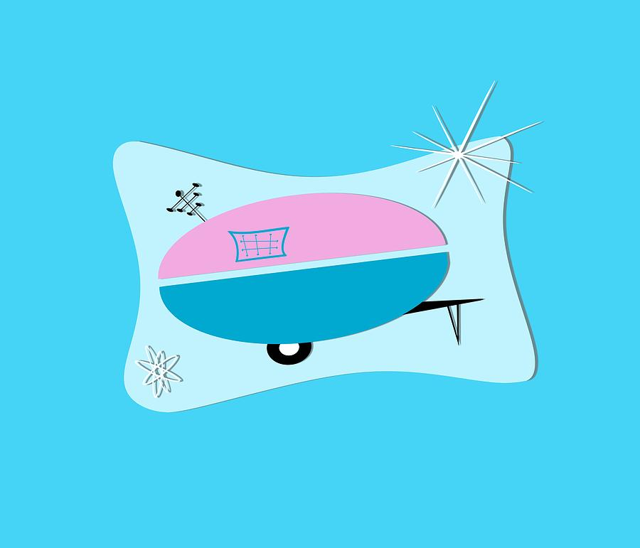 Space Age Camper by Patricia Montgomery