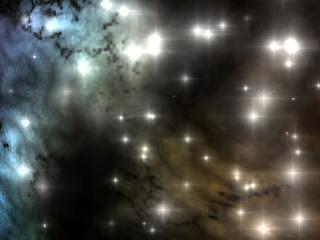 Space Clouds Digital Art by Robert aka Bobby Ray Howle