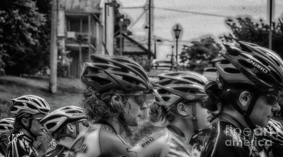 Bicycling Photograph - Space Helmets  by Steven Digman