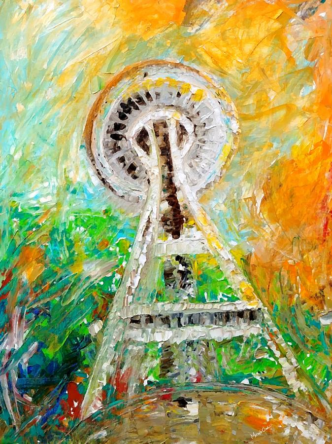Space Needle 2016 by Marcello Cicchini