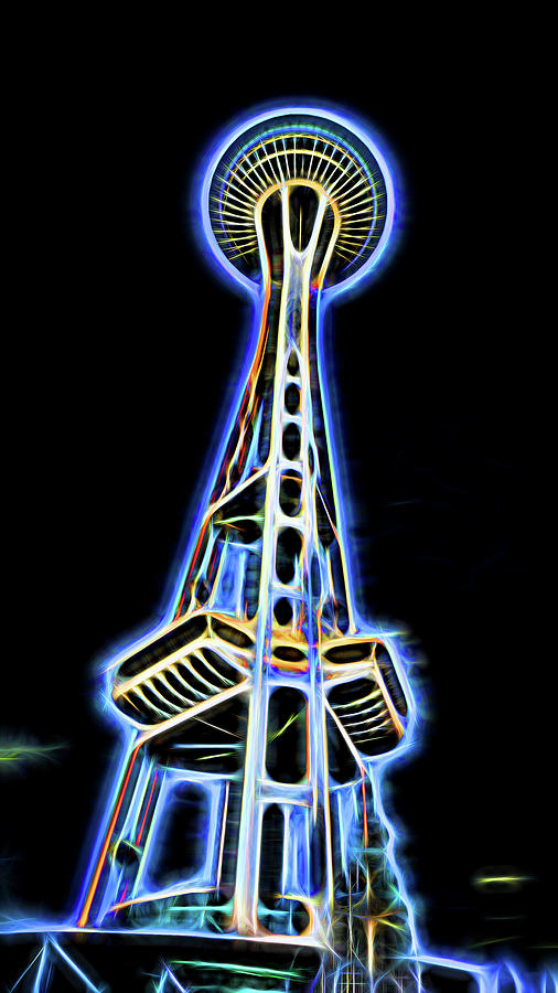 Space Needle  by Cathy Anderson